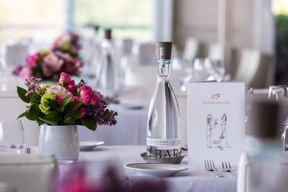 Svalbarði belongs on the table at your event just as at @chevredorfrance with @clubvivanova #svalbard #finedining #watersommelier <br>http://pic.twitter.com/BcEc6niaAS