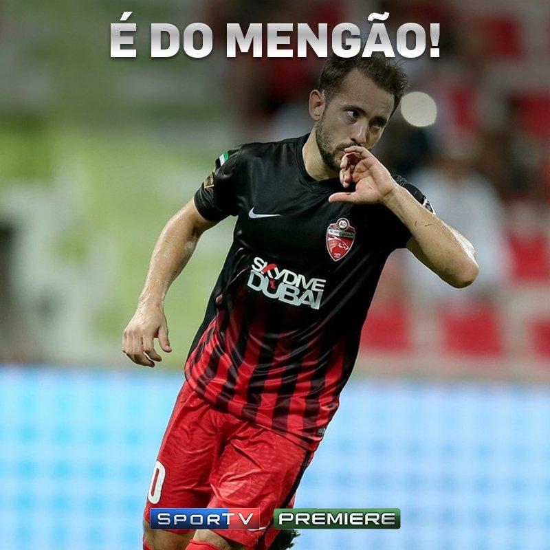 Fechado! Final feliz para Everton Ribeiro e @Flamengo!  #NossoFutebol