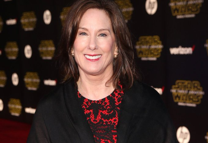 Happy Birthday to Honorary Member Kathleen Kennedy! May The Force Be With You!