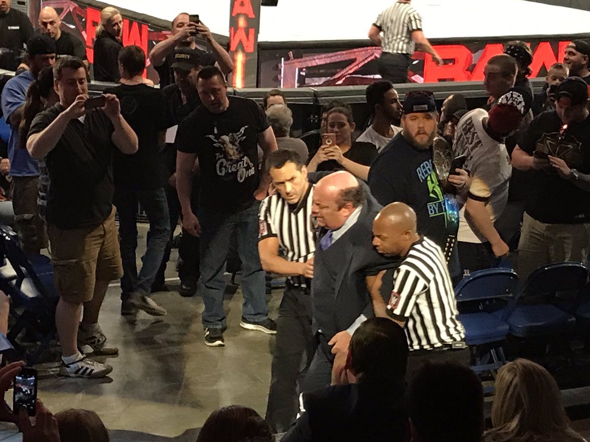 Safe to say @HeymanHustle looked much better when I saw him at Richmond