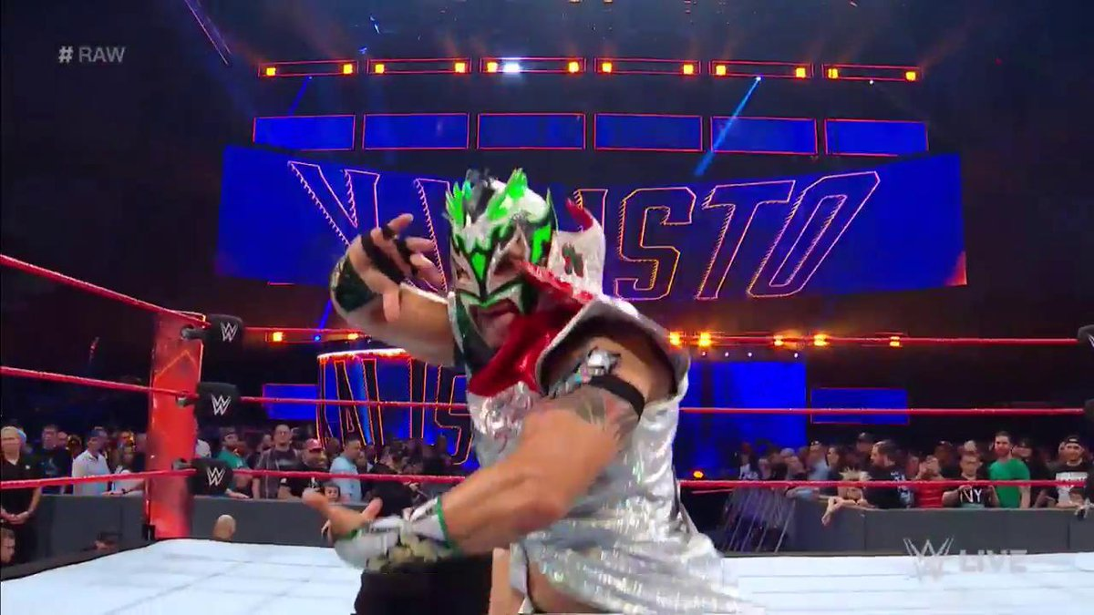 After getting a win on #ExtremeRules Kickoff last night, @KalistoWWE is set for action once again on #RAW!
