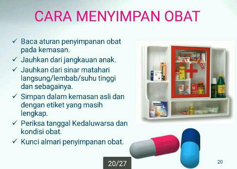 Cara Menyimpan Obat - AnekaNews.net