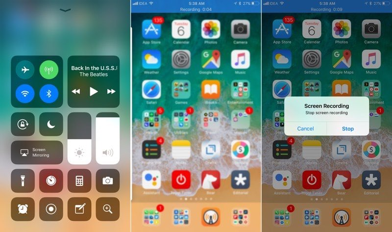 iOS 11 มีฟีเจอร์นึงที่หลายคนรอคอยเพิ่มเข้ามา นั่นคือสามารถอัดวิดีโอบนหน้าจอได้แล้ว #iOS11TH https://t.co/Xrfoel3Beq https://t.co/cJLR7PHrKl