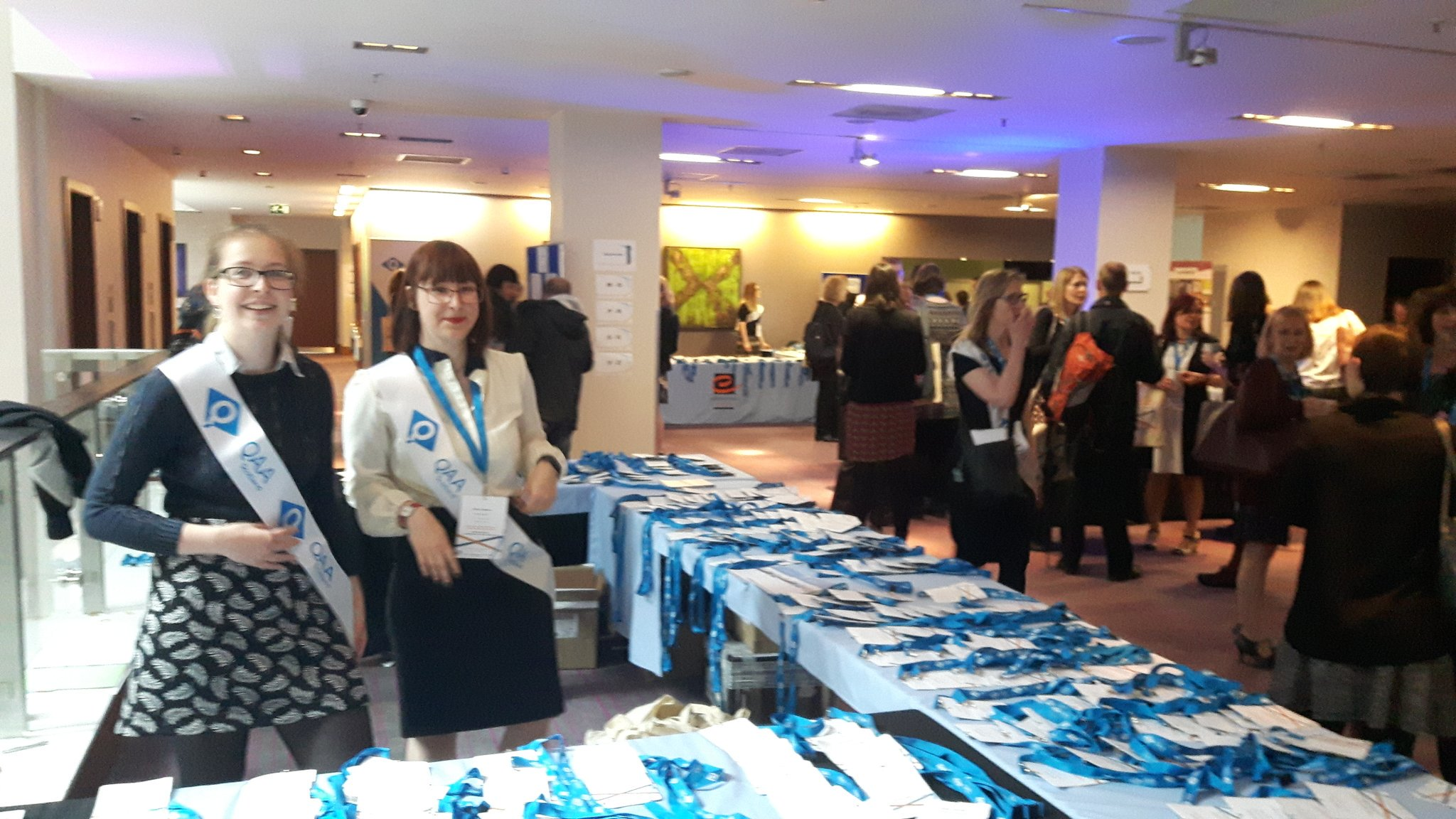 And we're off! @EmTodorova manning the @THEMEStweets @QAAScotland registration. Looking forward to a busy and stimulating day. #ETconf17 https://t.co/doQ3OnBrIF