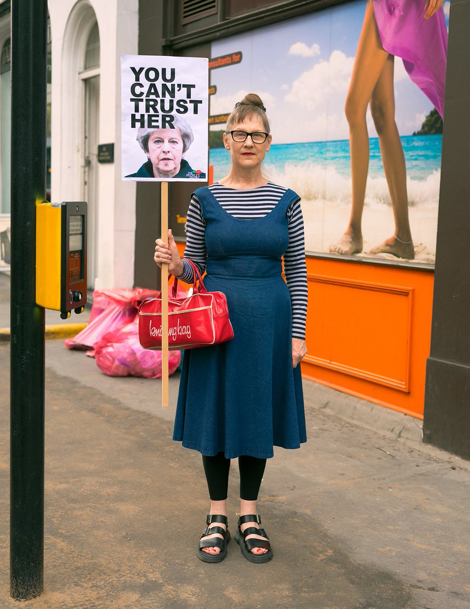 """You Can't Trust Her"", Mortimer Street, Fitzrovia, London - June 2017 https://t.co/QjqaARJRdz"