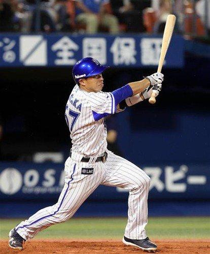 田中浩康 .212(66-14)0本塁打 8打点 1盗塁  長打率.273 出塁率.278