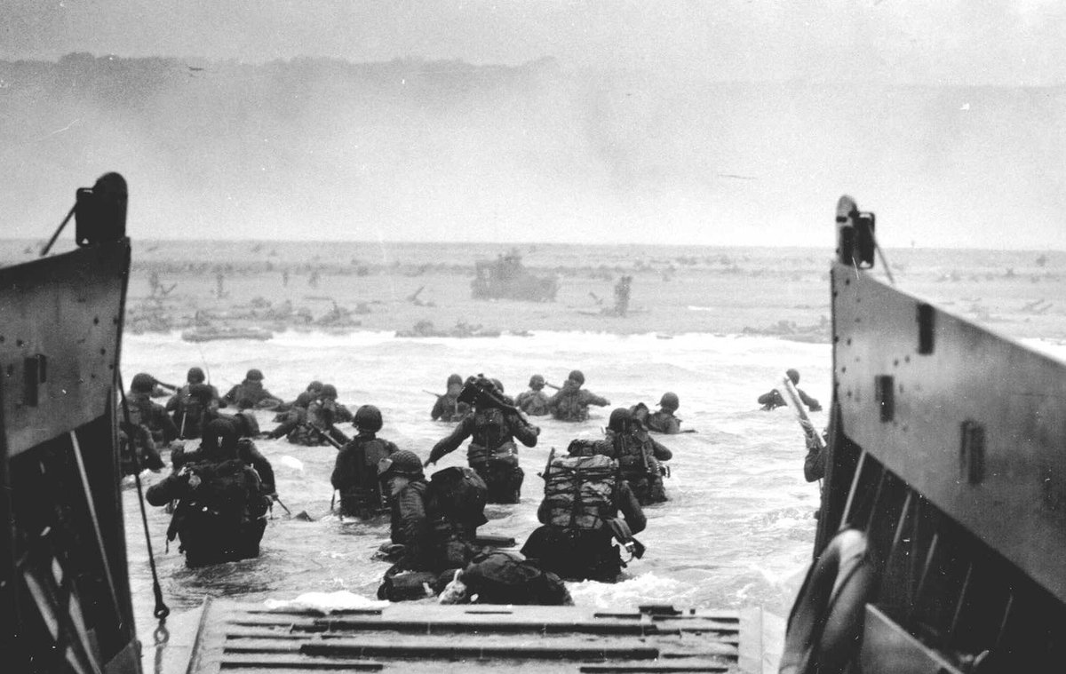 73 years ago today. #DDay