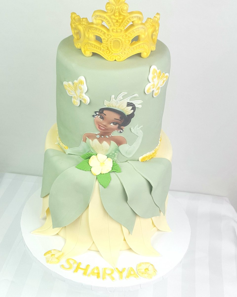Daleycakesplus On Twitter Princess Tiana Birthday Cake