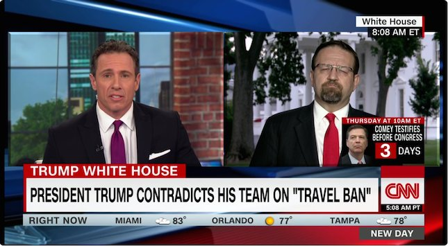 Chris Cuomo clashes with Sebastian Gorka: 'The facts are not your friend' | WATCH: https://t.co/4mmOEw5PRy