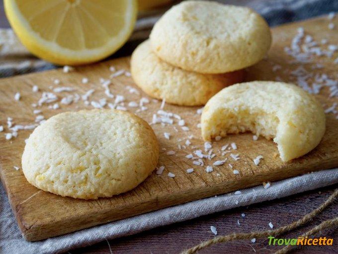 Biscotti Morbidi al Cocco e Limone