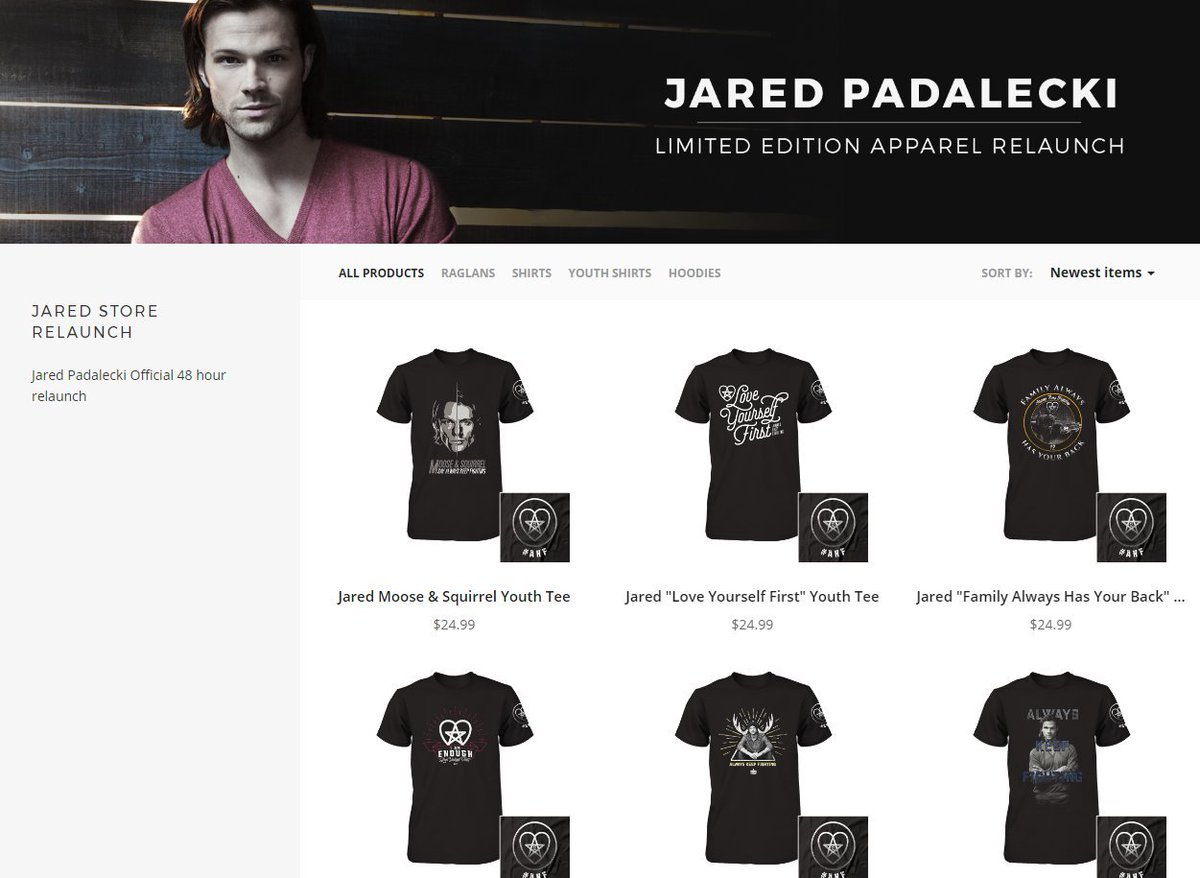 Just Jared Padalecki on Twitter Check out jarpad s official 48