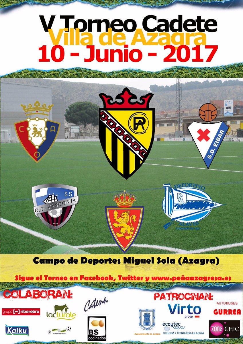 DESDE LA BANDA - FÚTBOL NAVARRO (DLB-FN). V torneo cadete Villa de Azagra.