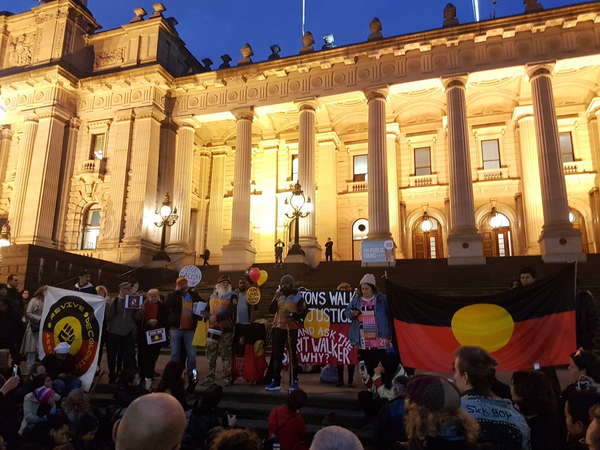Here to support @Clintonswalk for Justice on the Parliament House steps. #Progress2017 https://t.co/ppRtJmc9Qh