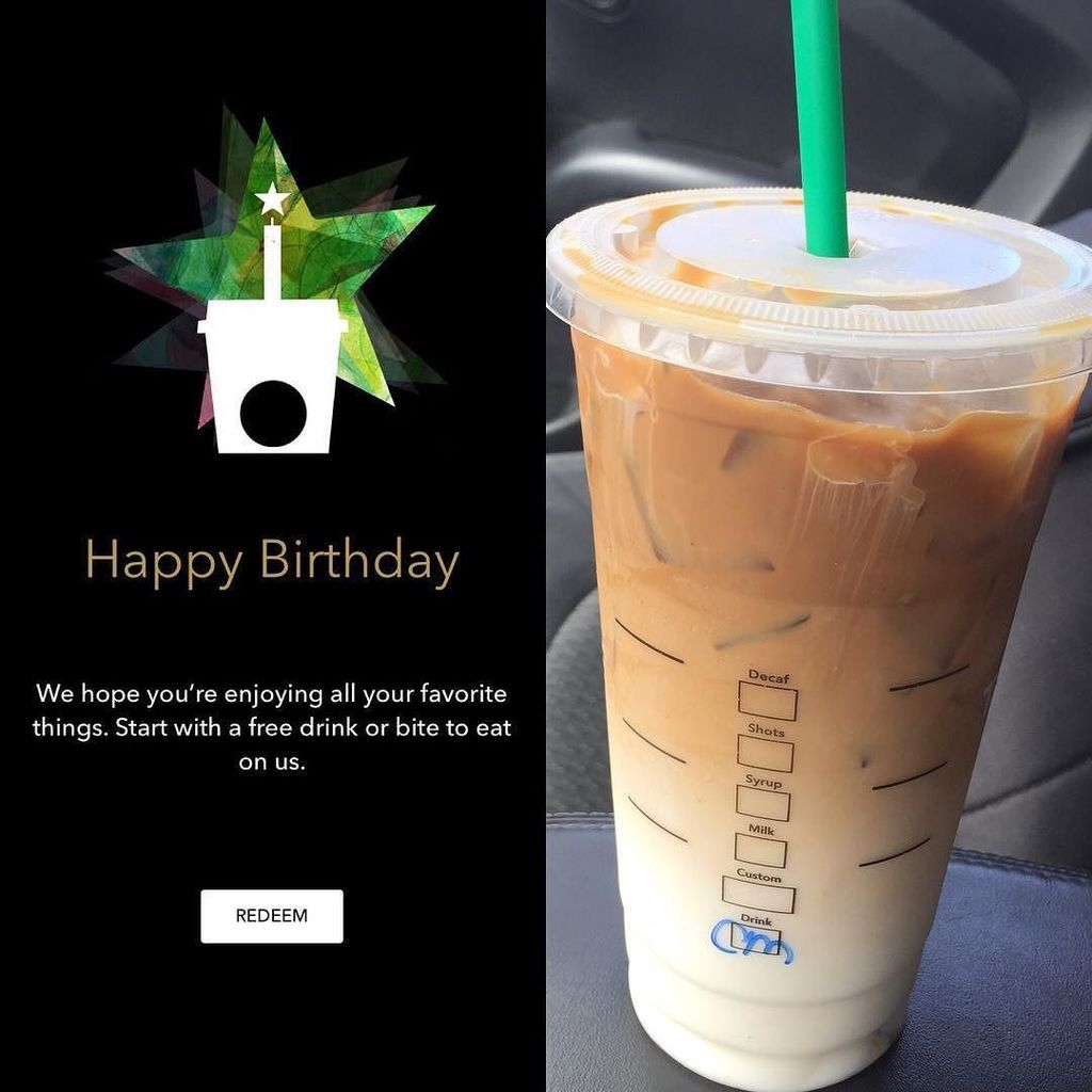 Lela Perez on Twitter Thanks starbucks for my free birthday drink