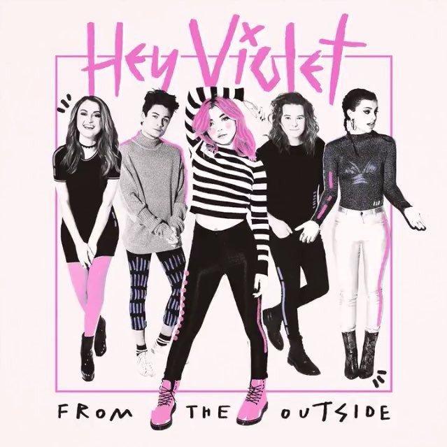 Pre-order @HeyViolet's debut album 'From The Outside' now! https://t.co/EKVdrI8awp https://t.co/2JmlOdL4Hz
