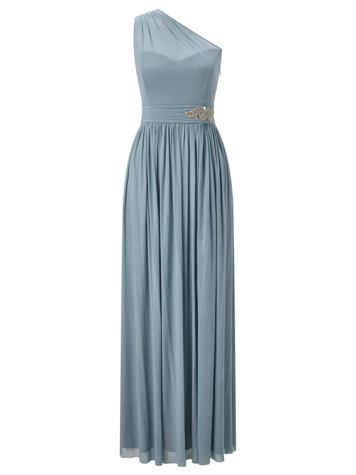 Octavia One Shoulder Bridesmaid Maxi Dress