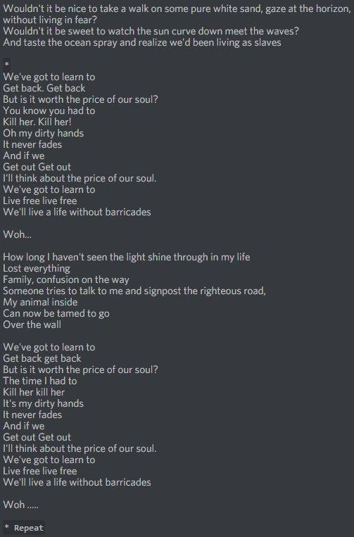 Images Of Lyrics Attack On Titan