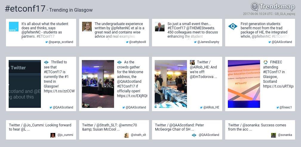 #etconf17 is now trending in #Glasgow  https://t.co/RUNYQd8aFs https://t.co/CO1dus9ZwL