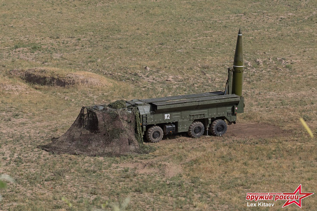 إسكندر Iskander-M منظومة القرن 21 الصاروخية DBobgnSW0AA0B8-