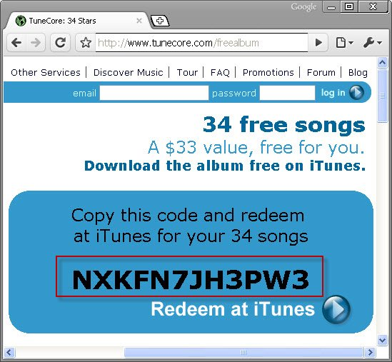 free itunes gift card codes that work