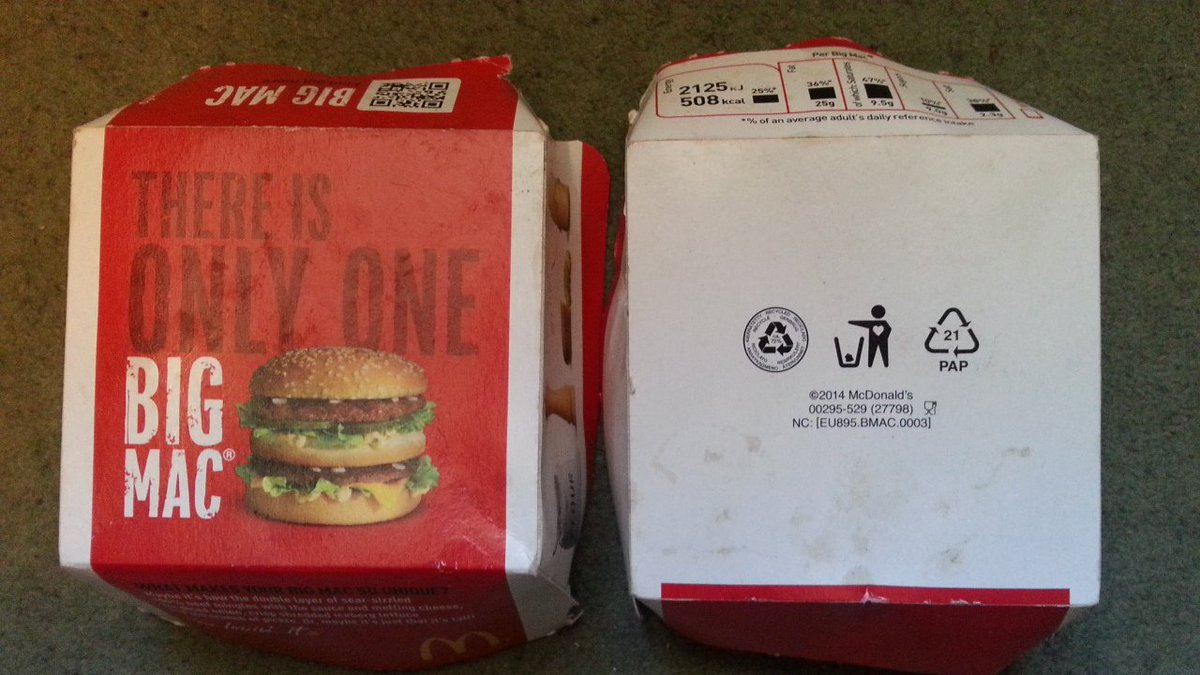 Leave only a shadow on twitter with tidyman symbol on bottom of leave only a shadow on twitter with tidyman symbol on bottom of box we wonder how many mcdonaldsuk customers ever c it rt if u think they coulddobetter biocorpaavc Choice Image