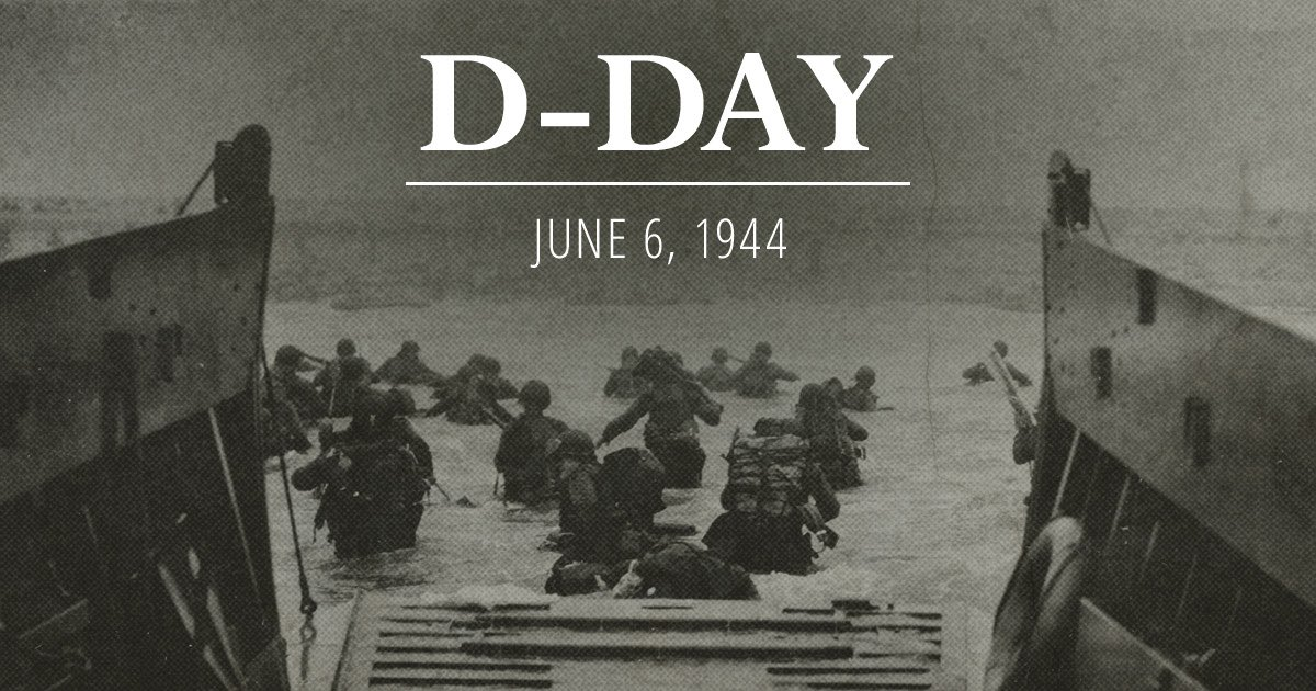 A reminder to all that Freedom is Never Free #Remember #DDay