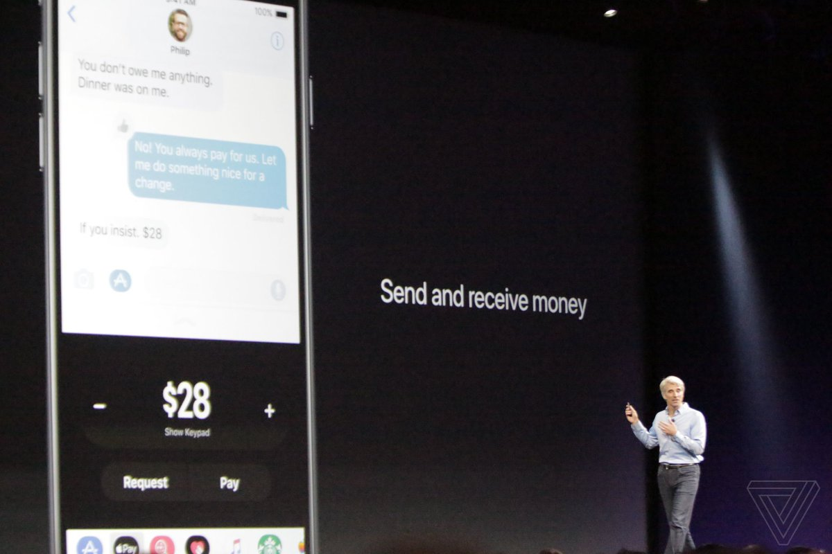 iOS 11 lets you send and receive money via iMessage with Apple Pay