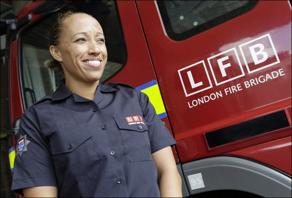 Firefighters and Inspecting Officers carry ID, so if we ever knock at your door & you're unsure, call 0208 555 1200 to confirm who they are