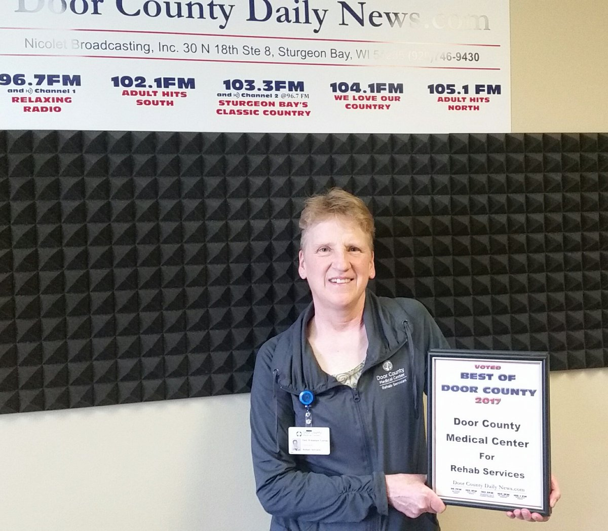 Doorcountydailynews On Twitter At Noon Deb Whitelaw Gorski From