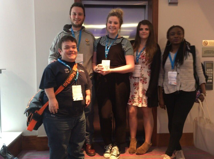 Our @VP_GSBS @VP_SEBE @VP_SHLS and Rachel and Yetunde (our new Officers) are attending #ETConf17. @CaledonianNews @QAAScotland https://t.co/NNpPvjgukn