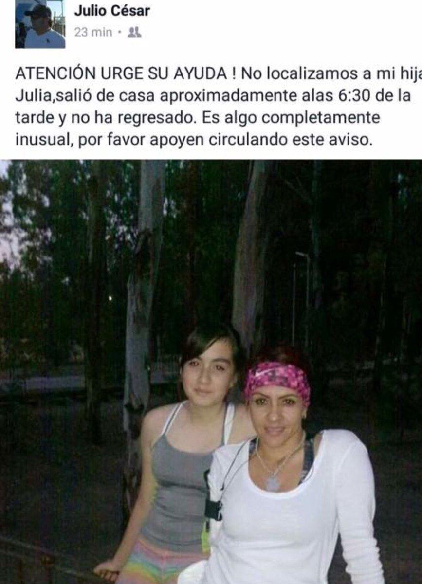 Ayúdanos a encontrar a Julia Piña Torres. Buenos días a todas y todos. Te pido un RT https://t.co/dFYSH5f4jU