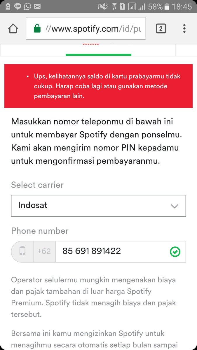 Spotify Indonesia On Twitter Hi Faisal Ada Biaya Pajak Yang Dikenakan Oleh Provider Kamu Bisa Tanyakan Lagsung Ke Providermu Ya
