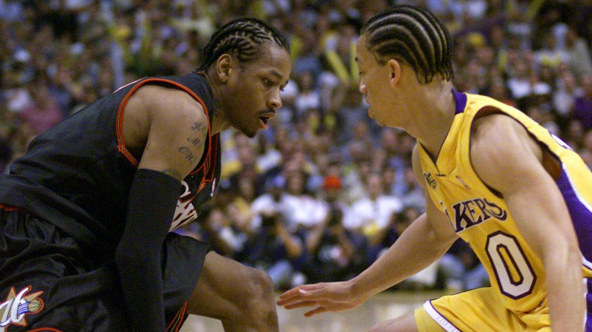 21571ae8889 Allen Iverson Stepped Over Tyronn Lue 16 Years Ago http   bit.ly 2rPAdAa   http   phillypic.twitter.com JzG4Q4A1wr