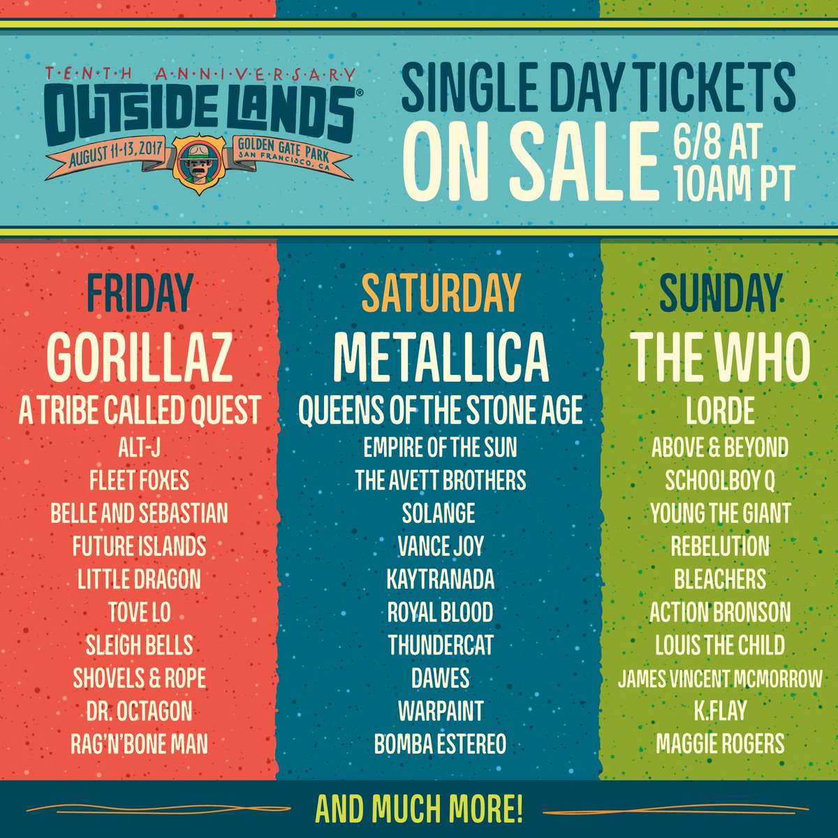 OSL 2017 Single Day Tickets