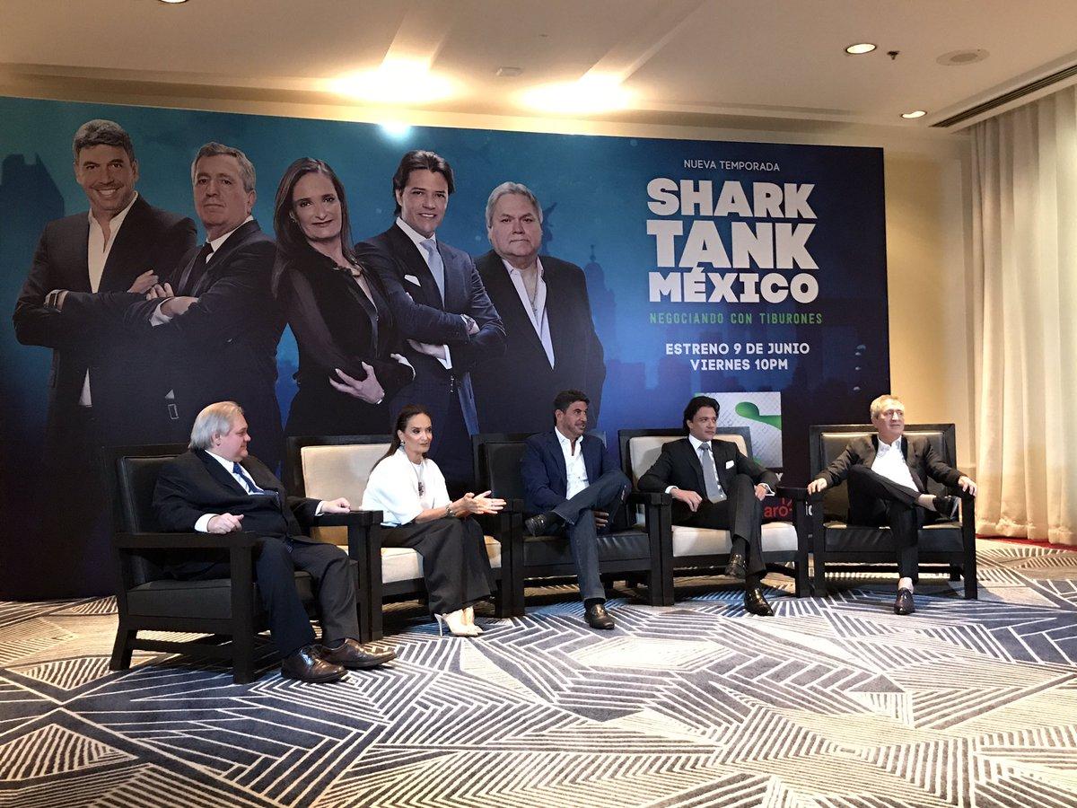 Feliz de estar una temporada más con mis tiburones #SharkTankMx @Canal_SonyMx