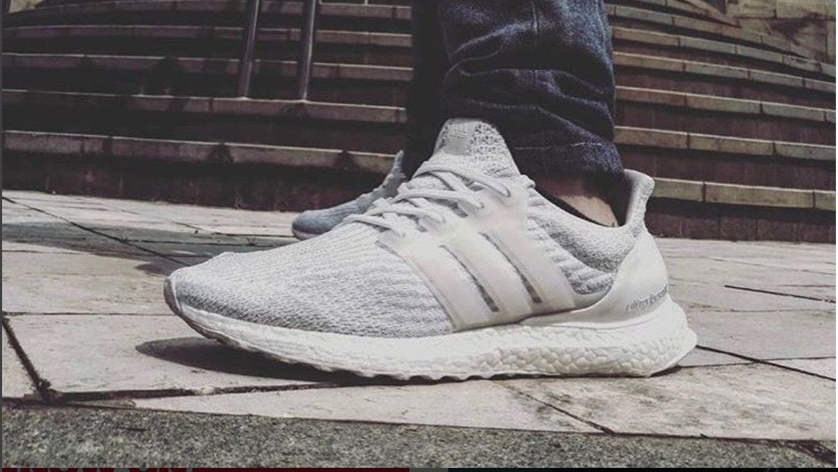 4f3067ffbaf41 ... coupon code jd on twitter summer ready boost the adidas ultraboost 3.0  triple white is freshly