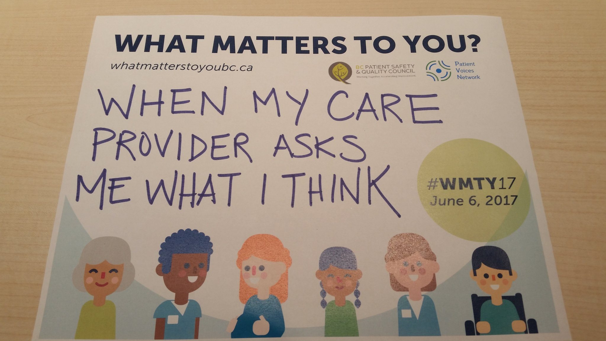 @VanIslandHealth It's so welcome to be asked what I think! #wmty17 https://t.co/Tgur0jtMDz