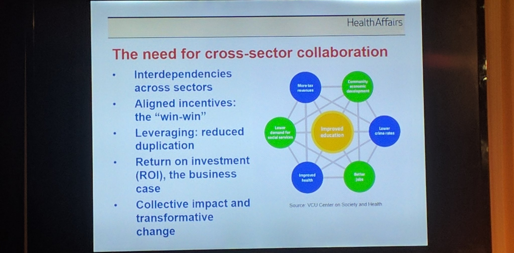 Collaboration is key for #healthequity - improved ROI, less duplication, bigger impact https://t.co/pzMgA3FaZ0