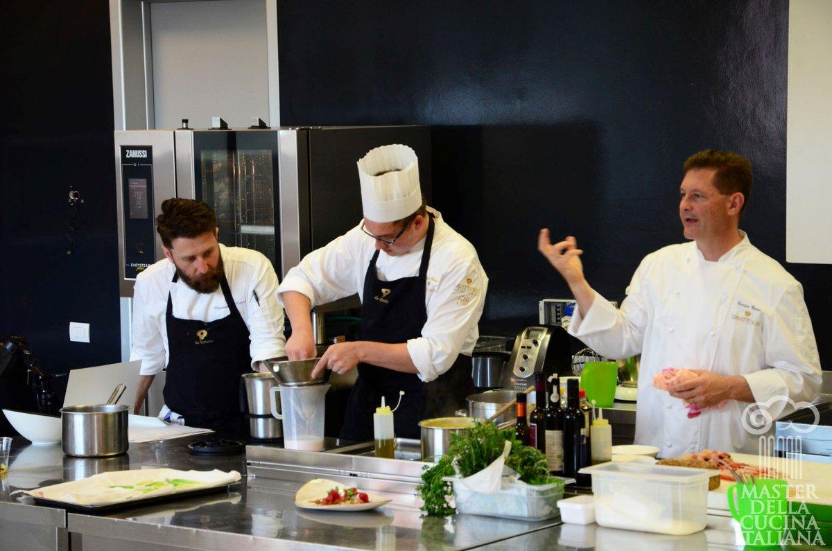 con lo chef tristellato chicco cerea una lezioine di grande cucina foodbloggerpictwittercomhfw00tscgi
