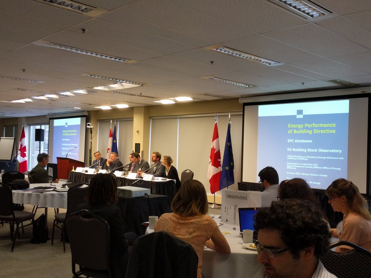 &quot;If you have a problem, the only way you can get it solved is by being open about it.&quot; Great #EUTaiex panel this morning. #opendata @NRCan<br>http://pic.twitter.com/NBkjJZF0UL