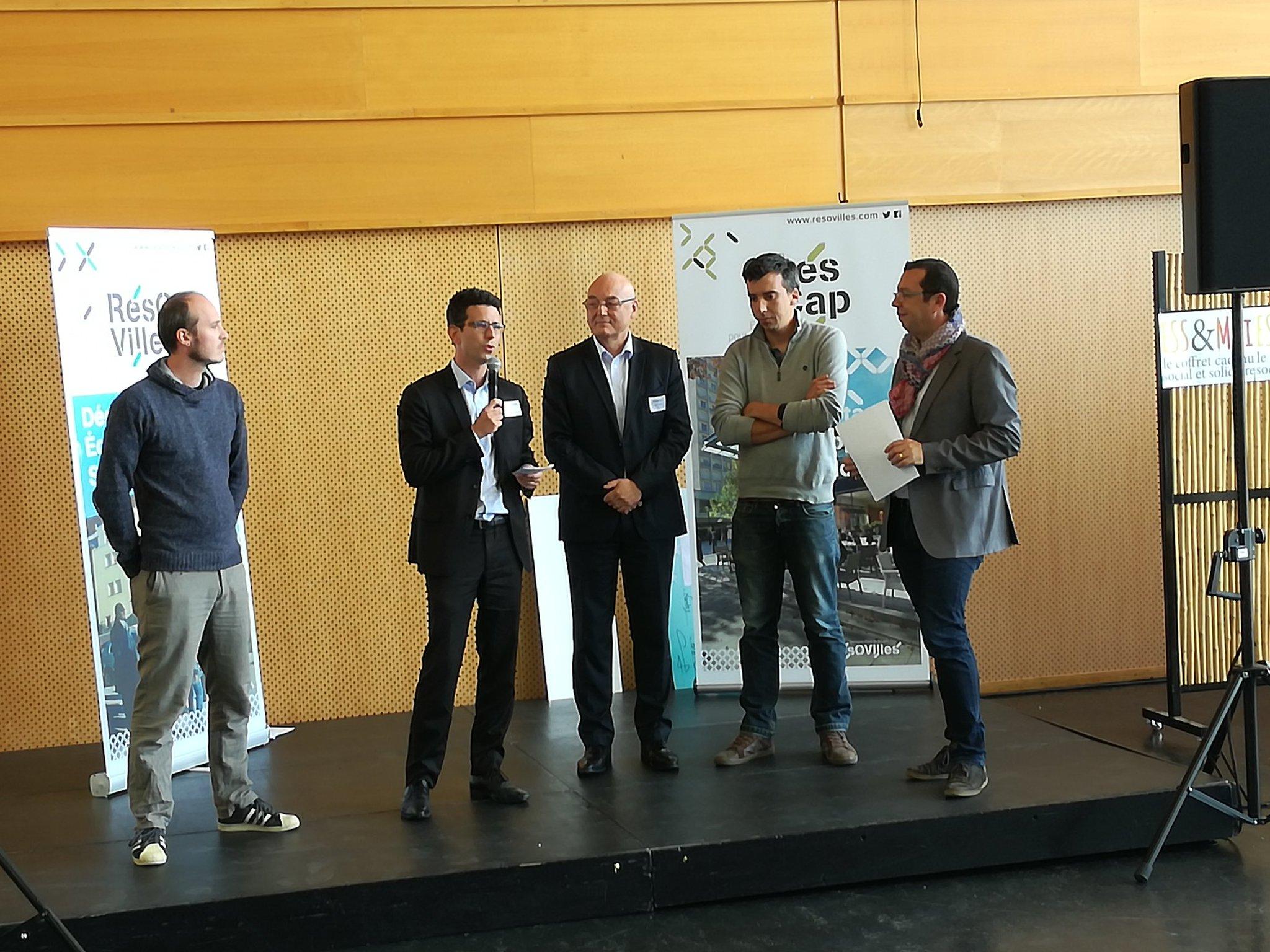 Notre premiers prix @resovilles #CitesCAP @mabanque_bnpp projet innovant #SaintNazaire #citedescongres https://t.co/vZOVdqrphy