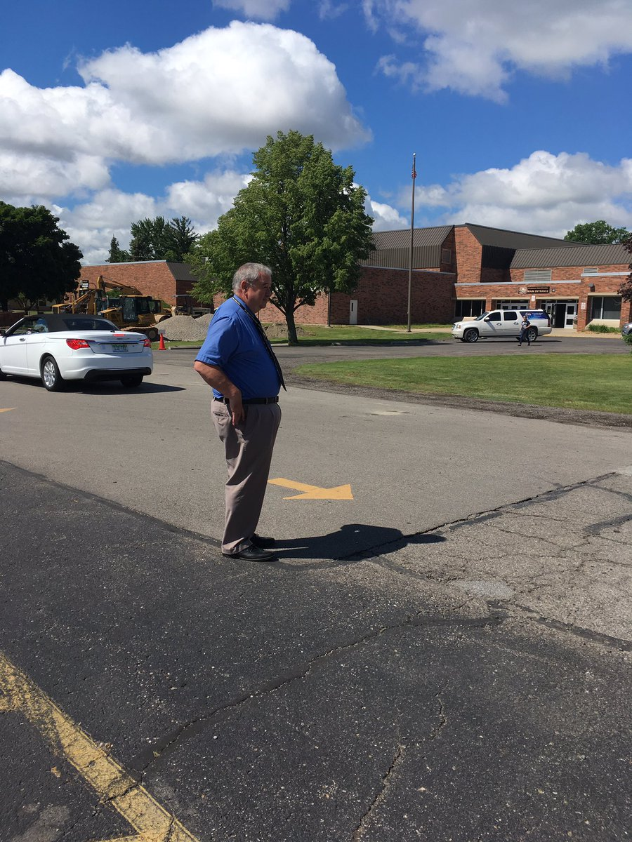 Corunna High School On Twitter Mr Constines Last Day In The