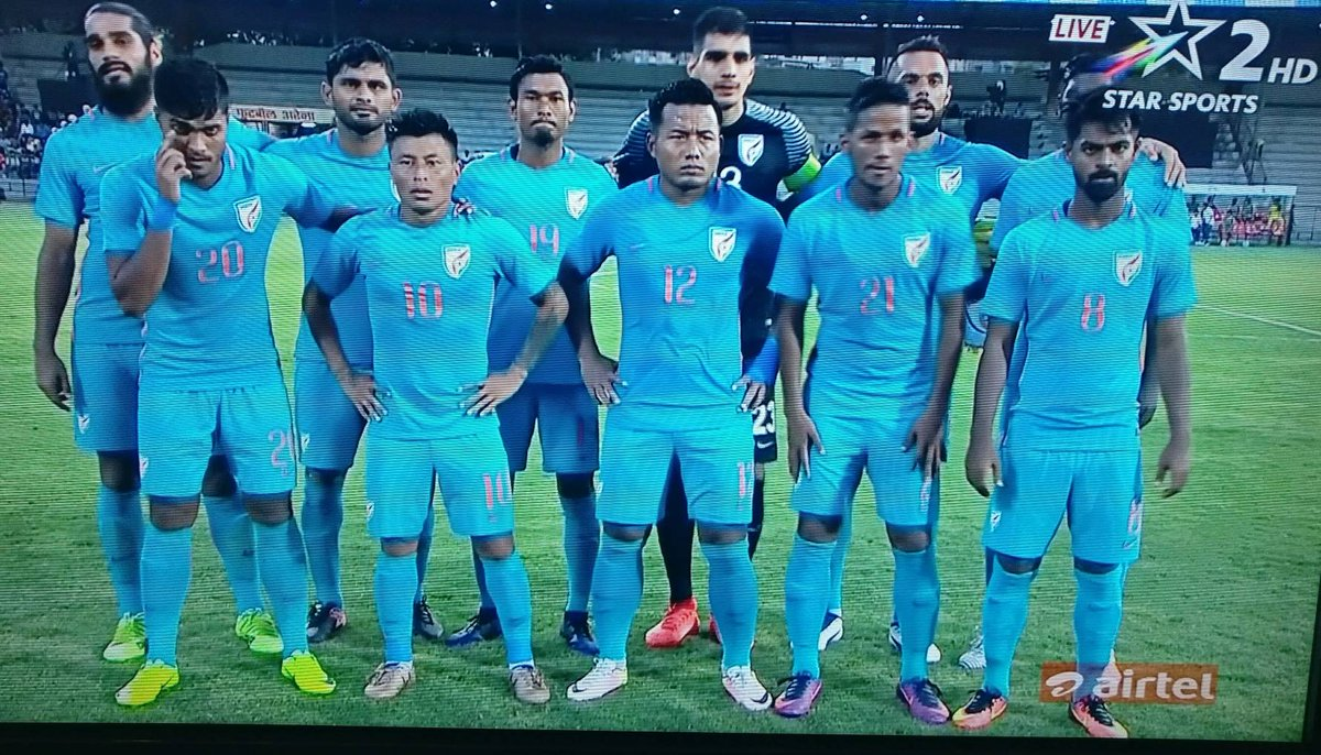 FT : #India 2-0 #Nepal   That's the 7th win in as many matches for us! Next up Kyrgyz!   #indianfootball #INDvNEP https://t.co/LW6qwze1wi