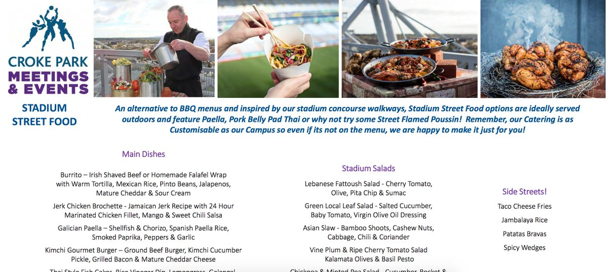 Croke park events on twitter our stadium street food offering is croke park events on twitter our stadium street food offering is the perfect summer menu for your event httpsttbnql6nmbx tasteofcrokepark forumfinder Choice Image