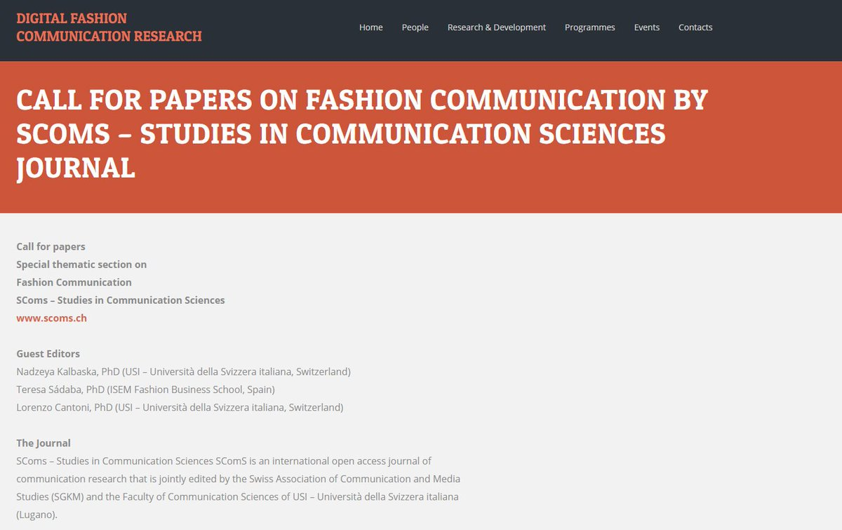 communication research papers