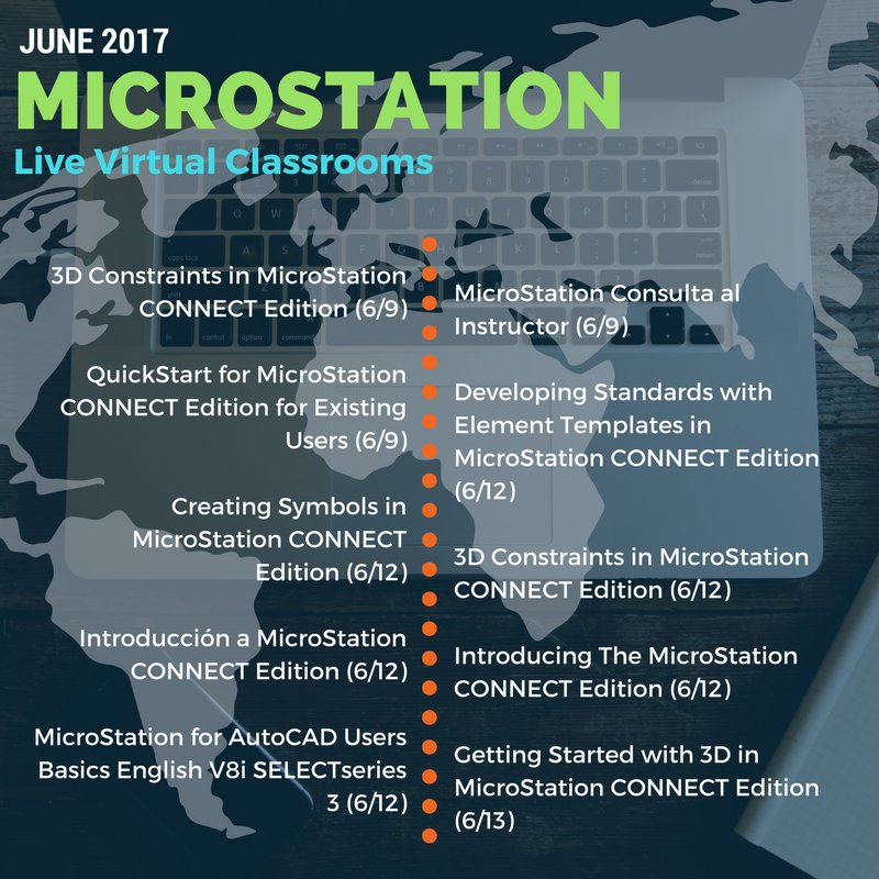 MicroStation on Twitter: