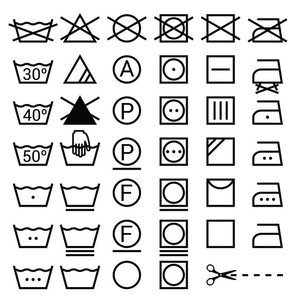 Safestore On Twitter What The Symbols On Your Clothing Labels Mean