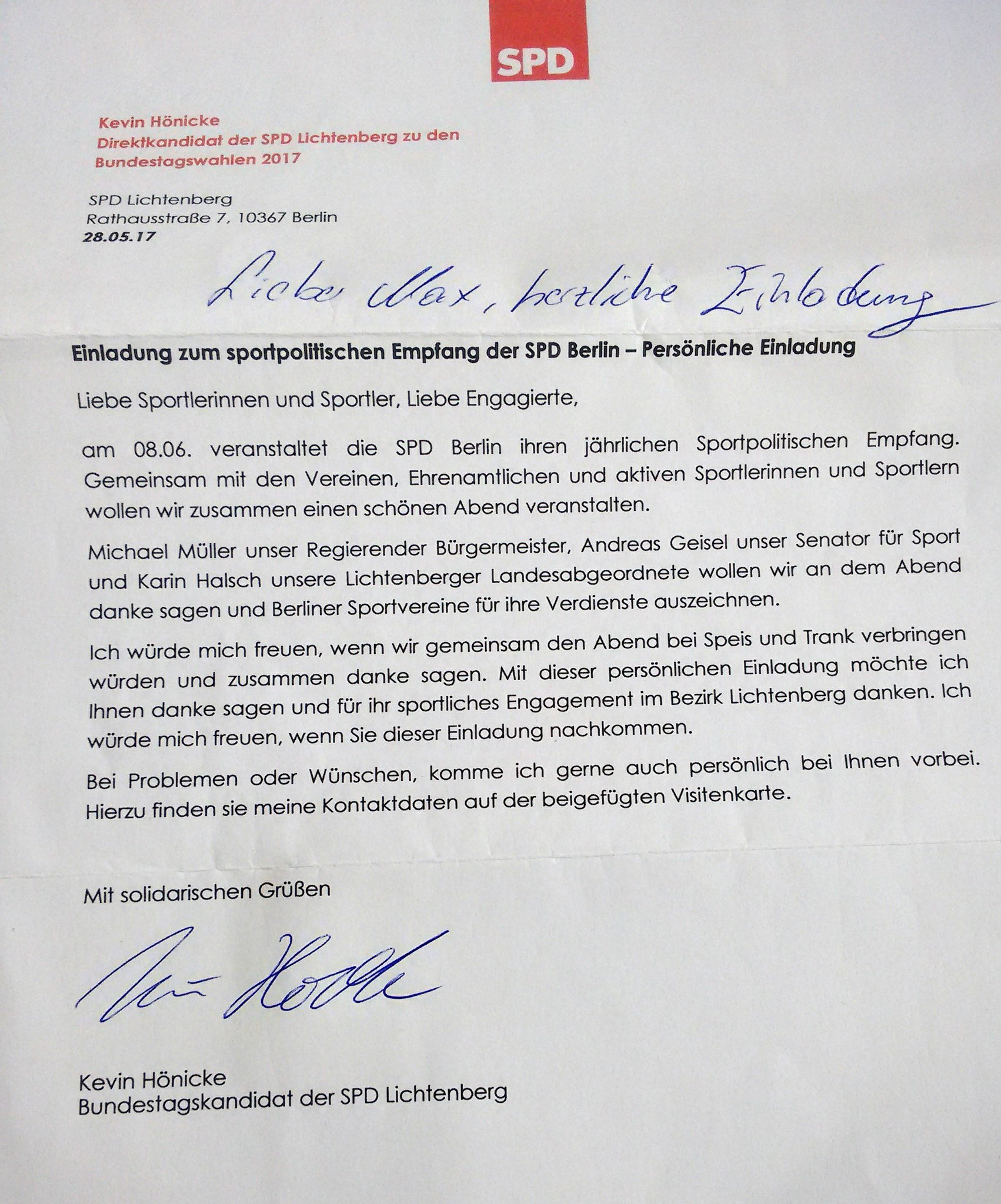 """m.kröber on twitter: """"vielen dank für die einladung, tolle, Einladung"""