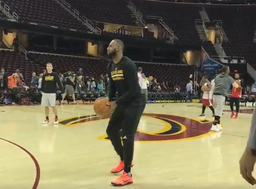 jordan zirm on twitter quotlebron wearing kobes at cavs