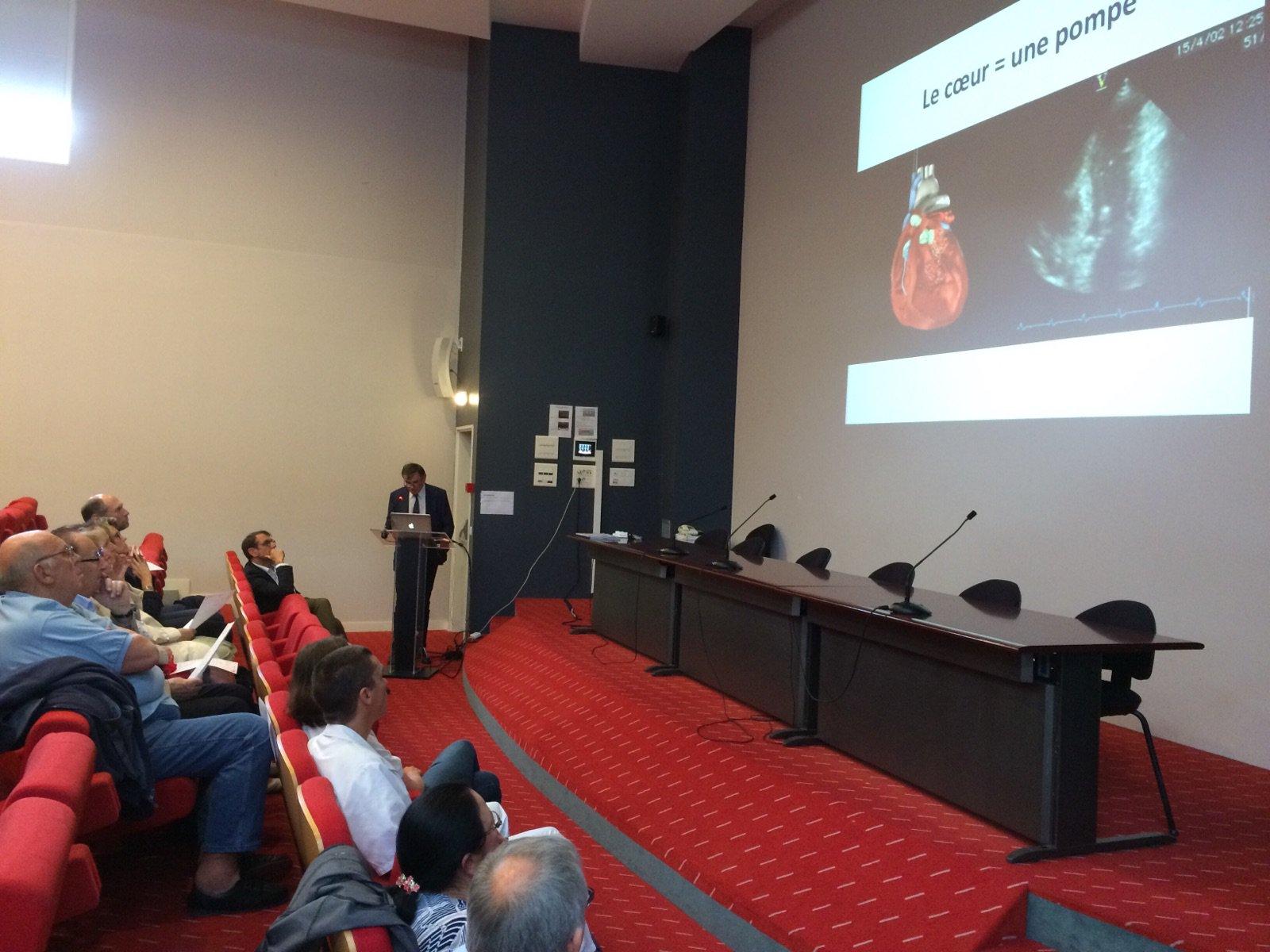 #Recherche transplantation cardiaque et assistance circulatoire mécanique : les chercheurs accueillaient auj des patients @Inserm @pidasilv https://t.co/MpcAraDYB5